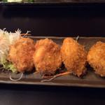 江戸前寿司 ちかなり - ほたてフライ☆480円+税