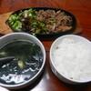 カルビ亭 - 料理写真:焼肉定食