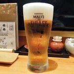 あじ彩 - あじ彩 「サントリー モルツ」