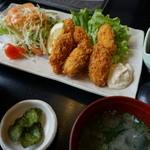 野福 - カキフライ定食