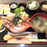 36111888 - かに・甘海老丼 1700円 【 2015年3月 】