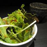 じゅう - セットのサラダ