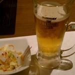 36115469 - つきだし&ビール♪