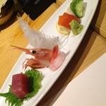 北の魚づくし - 刺身四種