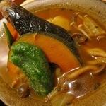 36117192 - 野菜スープカレー。ほかにキチン、ポーク、シーフードがあります。