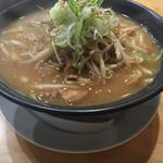 Adumaza - 濃厚味噌白湯ラーメン750円(税込)