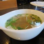36117816 - セットのスープ