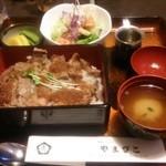 レストランやまびこ - ステーキ丼  1,566円♪
