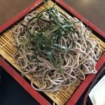 竹山高原ホテル - お蕎麦は乾麺かに思いました。