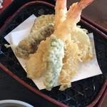 竹山高原ホテル - 天婦羅サクサク美味しいです!