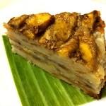 ベトナムバナナケーキ