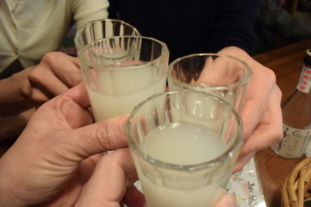 櫛羅 - ●乾杯だ~~♪