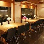 げんき食堂 WAKU家 - モダンで落ち着いた雰囲気の店内