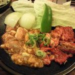 グリーン・ペッパー - 焼き肉ランチC(カルビ&ホルモン)