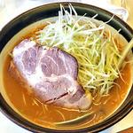 こまどり - ねぎ味噌ラーメン(2015年3月)