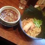 中華そば 旋 - つけ麺<小盛り>にのり100円