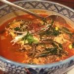 焼肉 大将軍 - テグタン麺