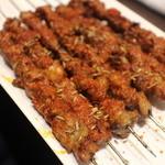 四季海岸 - ラム肉串焼き
