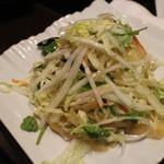 四季海岸 - 白菜とくらげの和え物