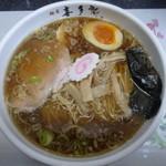 喜多郎 - 煮干ラーメン煮たまご入り。20食限定の更に20食限定ゆめブレンド麺♪730円