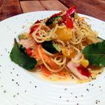 cuore - 彩野菜のペペロンチーノ