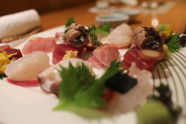 日本料理 きた山 横浜店 - 刺身盛り合わせ