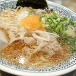 丸源ラーメン - 2014年1月 肉そば【682円】