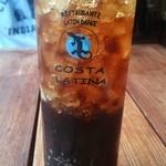 コスタ・ラティーナ - グラスもロゴ入り