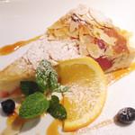 36132719 - ブルーベリーのレアチーズケーキ