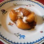 スパッソ - デザートは『柿のソテー』でした