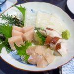 浜の台所 越喜来や - 料理写真:旬のお刺身