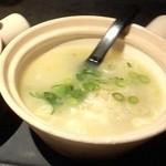 36136331 - ランチセットの「健康鶏スープ」
