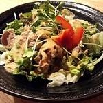 べこまる 高津総本家 - 牛しゃぶ特製サラダ