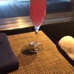 36136735 - ノンアルコール 桜のカクテル