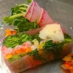 フォーゲル ザンク - ズワイガニと季節野菜のテリーヌ
