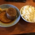 だん平うどん - 料理写真:ご飯&おでん ※うどん定食より