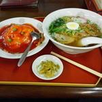 天安門 - 天津飯セット