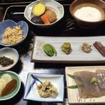 36140235 - 麦とろ定食¥1280 この他にご飯と味噌汁がつきます。