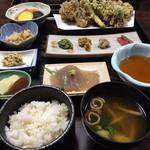36140237 - 季節の天ぷら定食¥1780