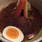 36140583 - 黄スープのハンバーグ ハンバーグがイマイチ