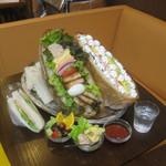 36140679 - ぞうさんのサンドイッチ♪(3300円)