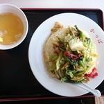 かっぱ食堂 - 2015年1月 肉チャーハン 950円
