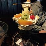 珈琲茶館OB - 抹茶パフェ