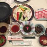 Ajisaiishigakijima - 夕食セット