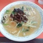 36145501 - 味噌柳麺 800円 2015/03