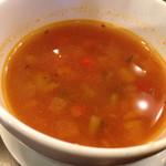 36145599 - ランチセットスープ  ミネストローネ