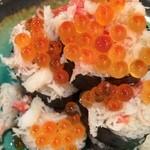 俺の魚を食ってみろ!! 神田本店 - 名物 なだれ寿司