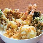 毘沙門天 - 定番オリジナル板前天ぷら丼