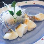 浅黄 - 魚 鉄板焼き 未食