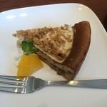 バルバ ピッツア - クルミのチーズケーキ